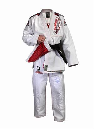 Gameness Elite BJJ White Gi